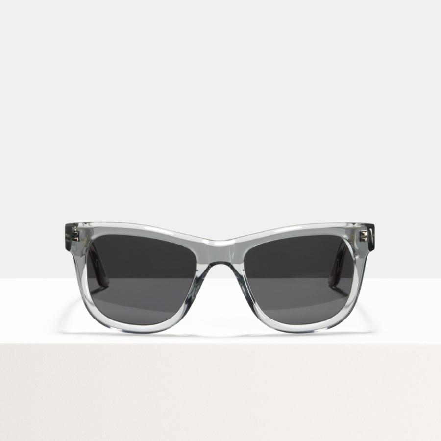 Ace & Tate Sunglasses | rectangle acetate in Grey