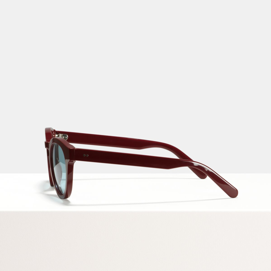 Ace & Tate Sunglasses | round recycled in Red