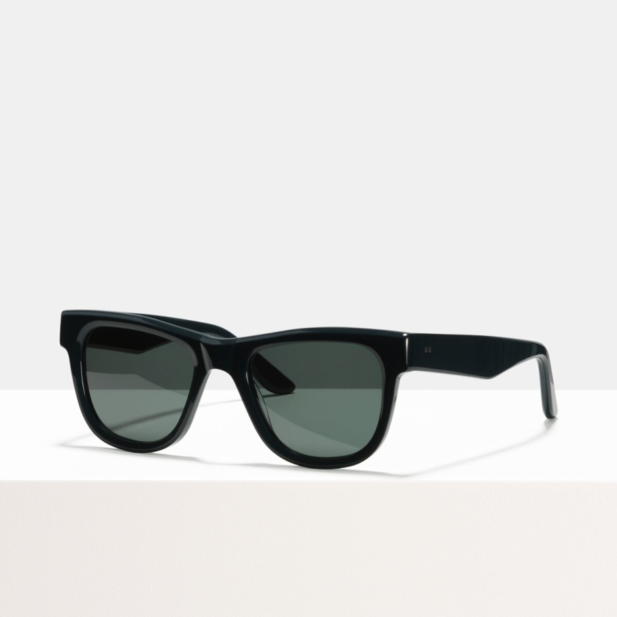 Ace & Tate Sunglasses | rectangle recycled in Blue, Green