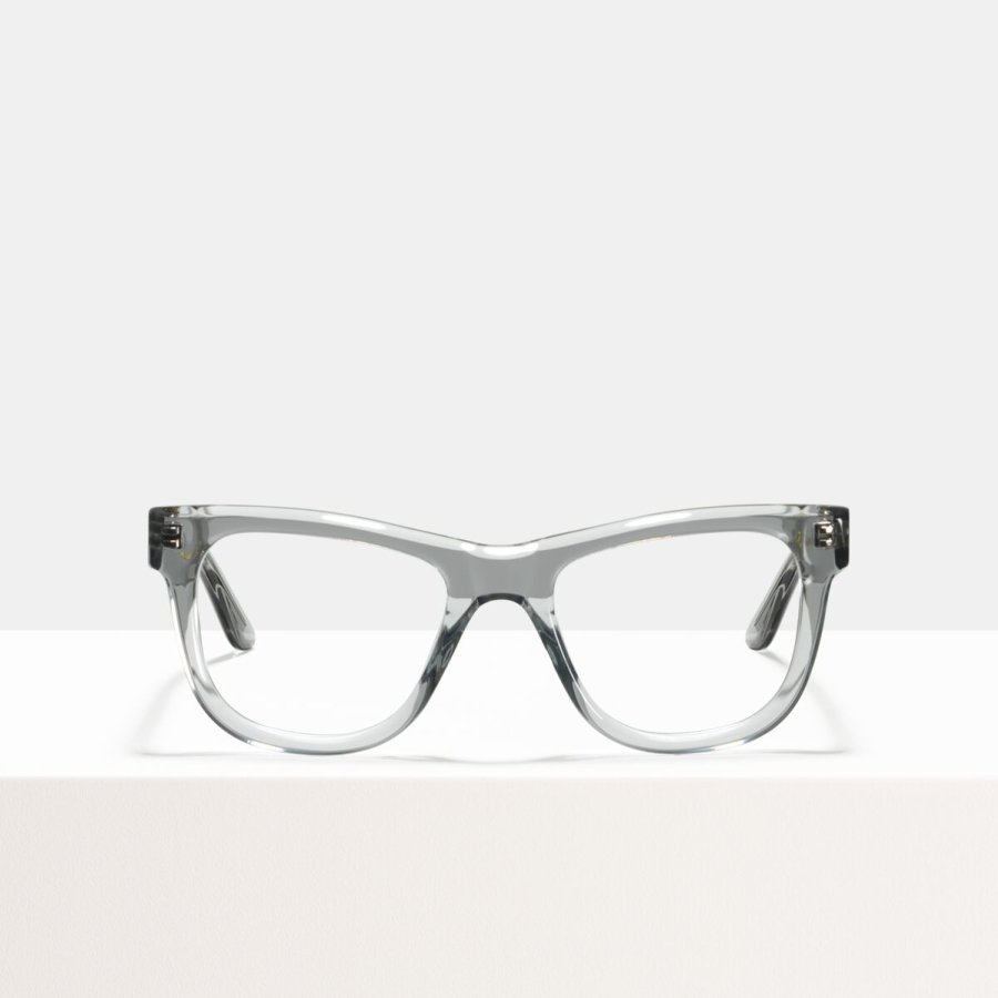 Ace & Tate Glasses | rectangulaire acétate in Clair