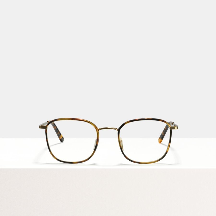 Ace & Tate Glasses | square metal in Black, Brown, multicolor, tortoise, Yellow