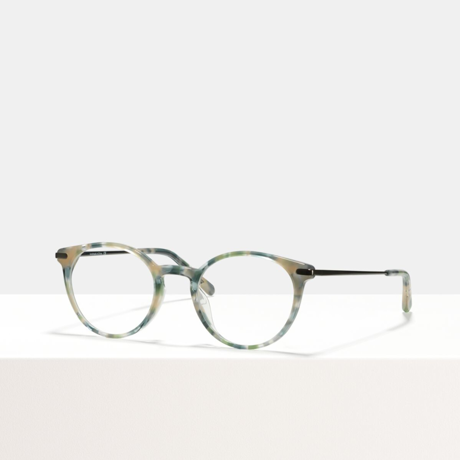Ace & Tate Glasses | round acetate in Beige, Blue, Green, Grey, multicolor