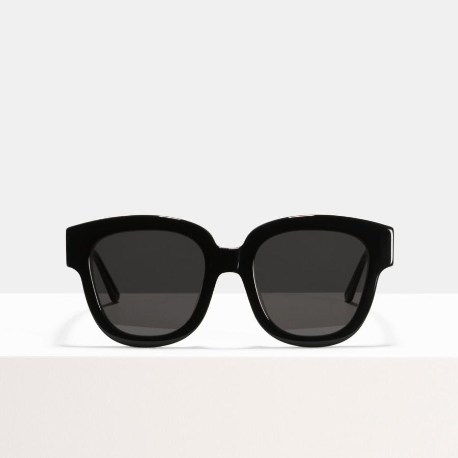 Ace & Tate Sunglasses | square acetate in Black