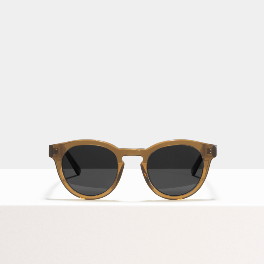 Ace & Tate Sunglasses | round acetate in Brown