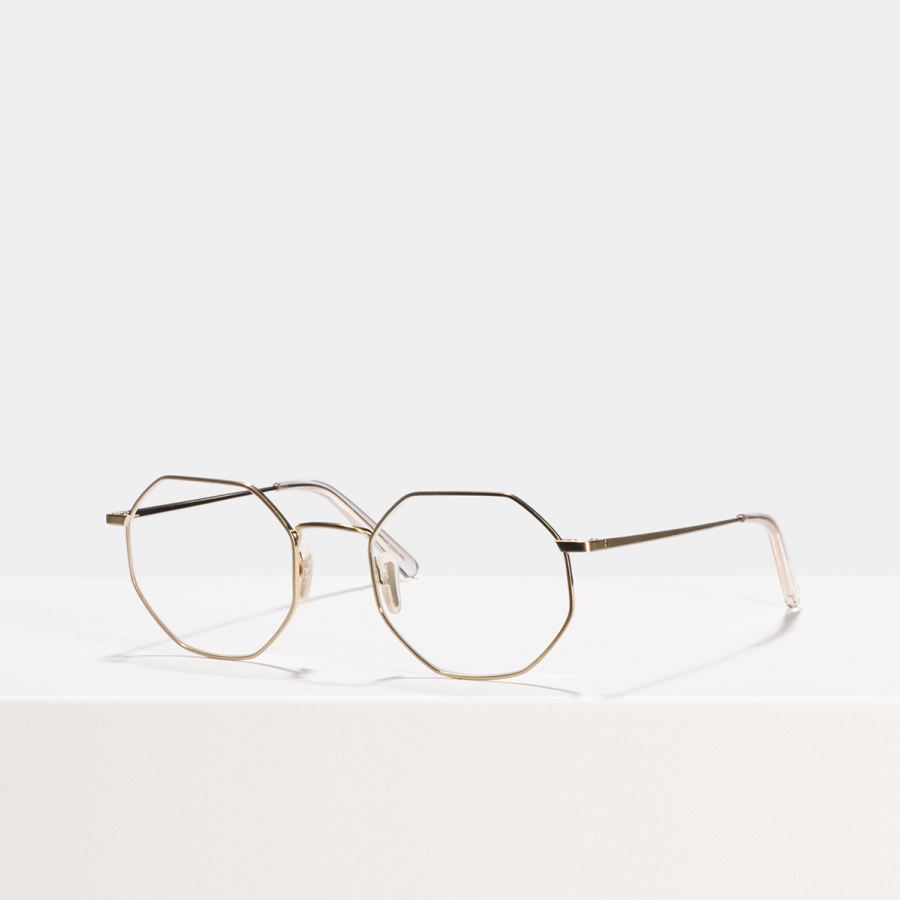 Ace & Tate Glasses |  Metall in Gold