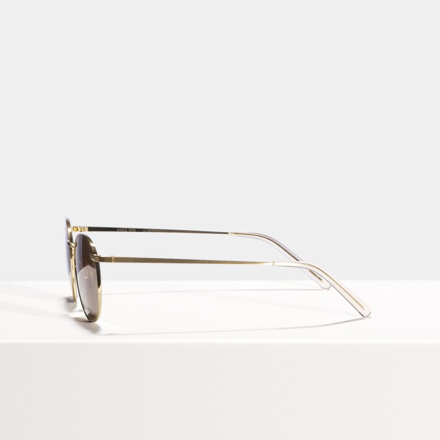 Ace & Tate Sunglasses | round titanium in Gold