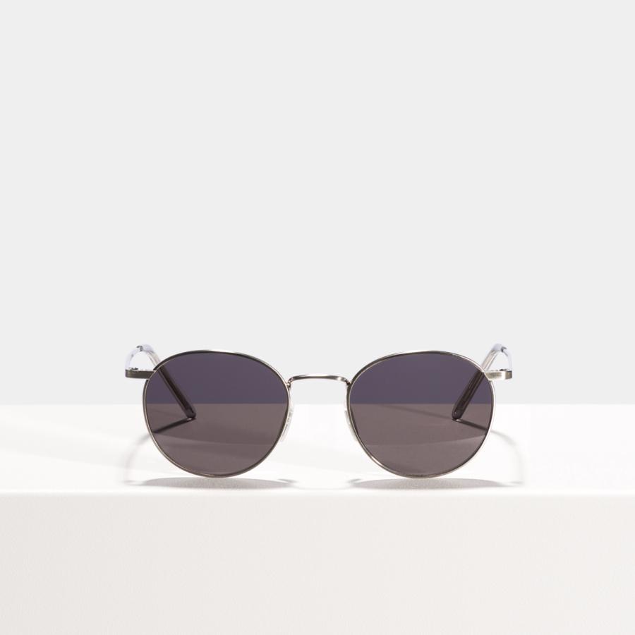 Ace & Tate Sunglasses | rond titanium in Zilver