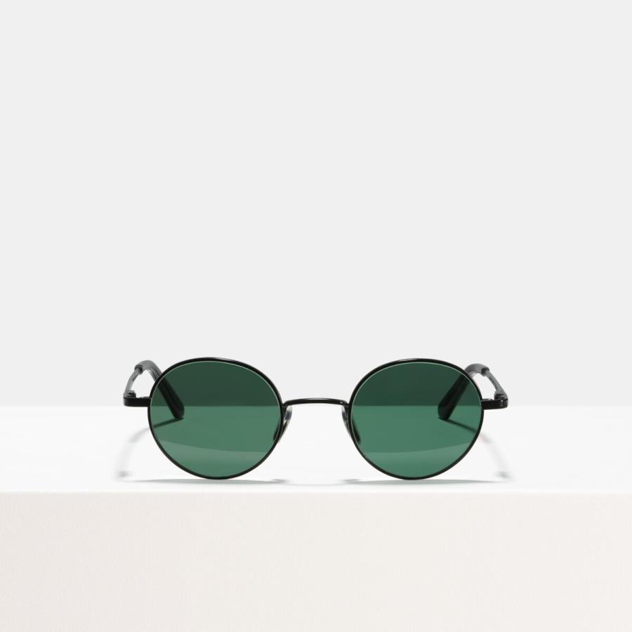 Ace & Tate Sunglasses | round metal in Black