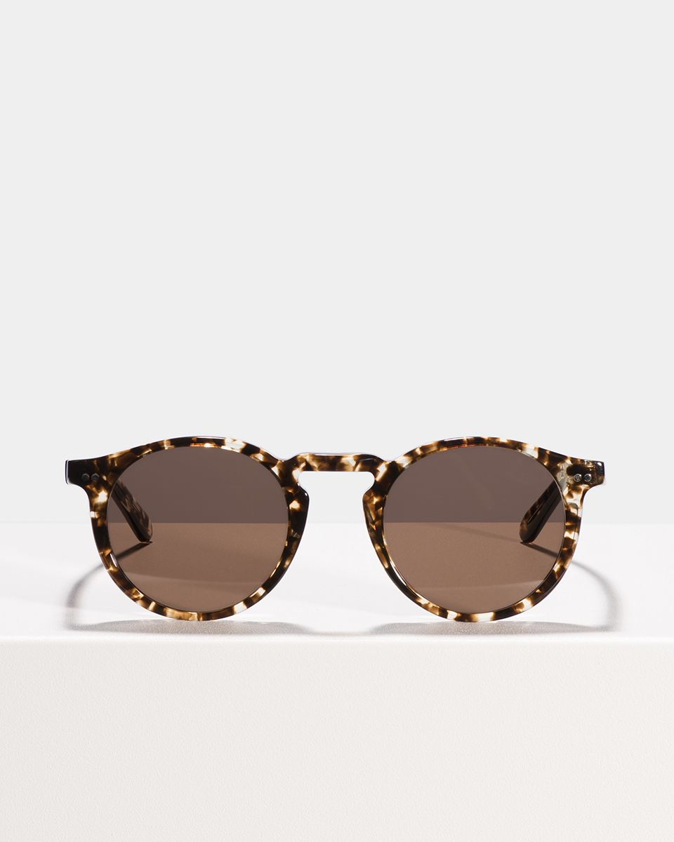 Benjamin rund Acetat glasses in Chocolate Chip by Ace & Tate
