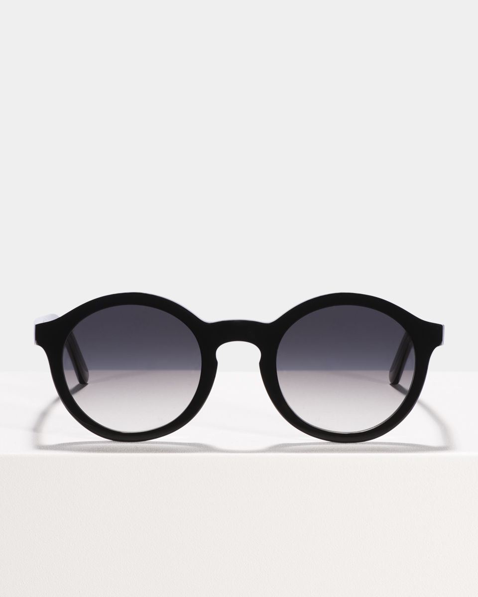 Colin rondes bio-acétate glasses in Bio Black by Ace & Tate