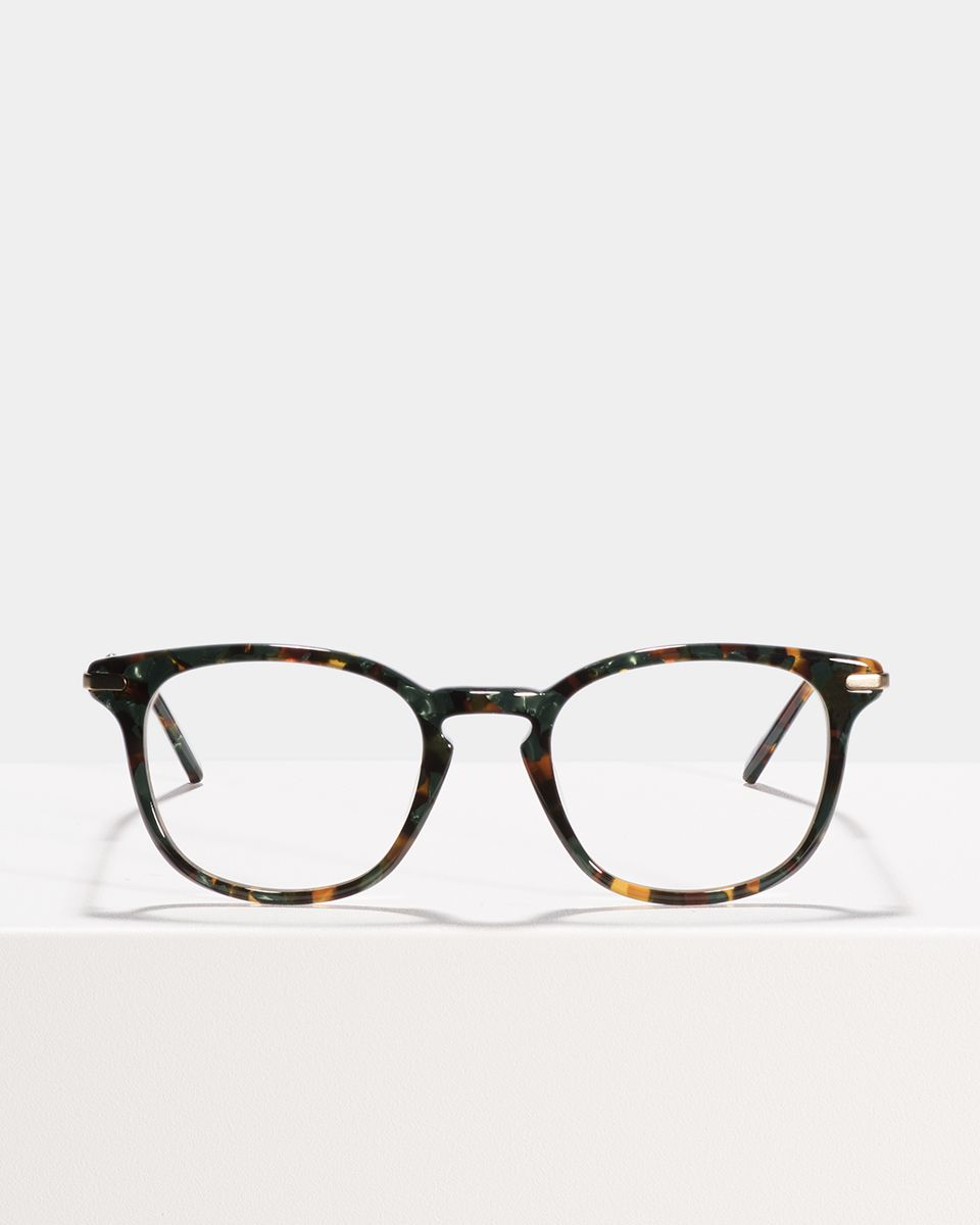 Dylan quadratisch Verbund glasses in Peacock by Ace & Tate