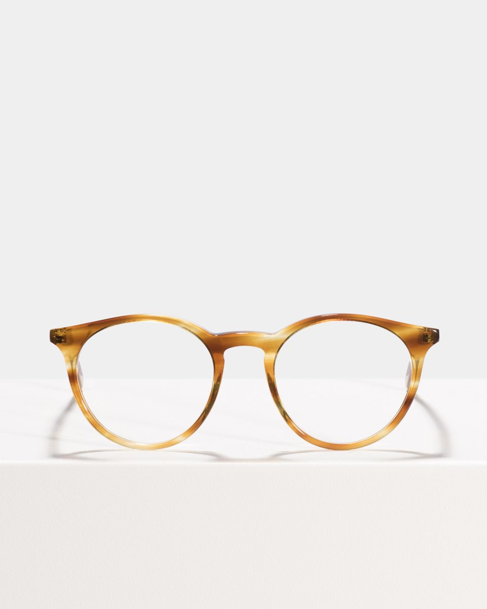 Easton acetato glasses in Caramel Havana by Ace & Tate
