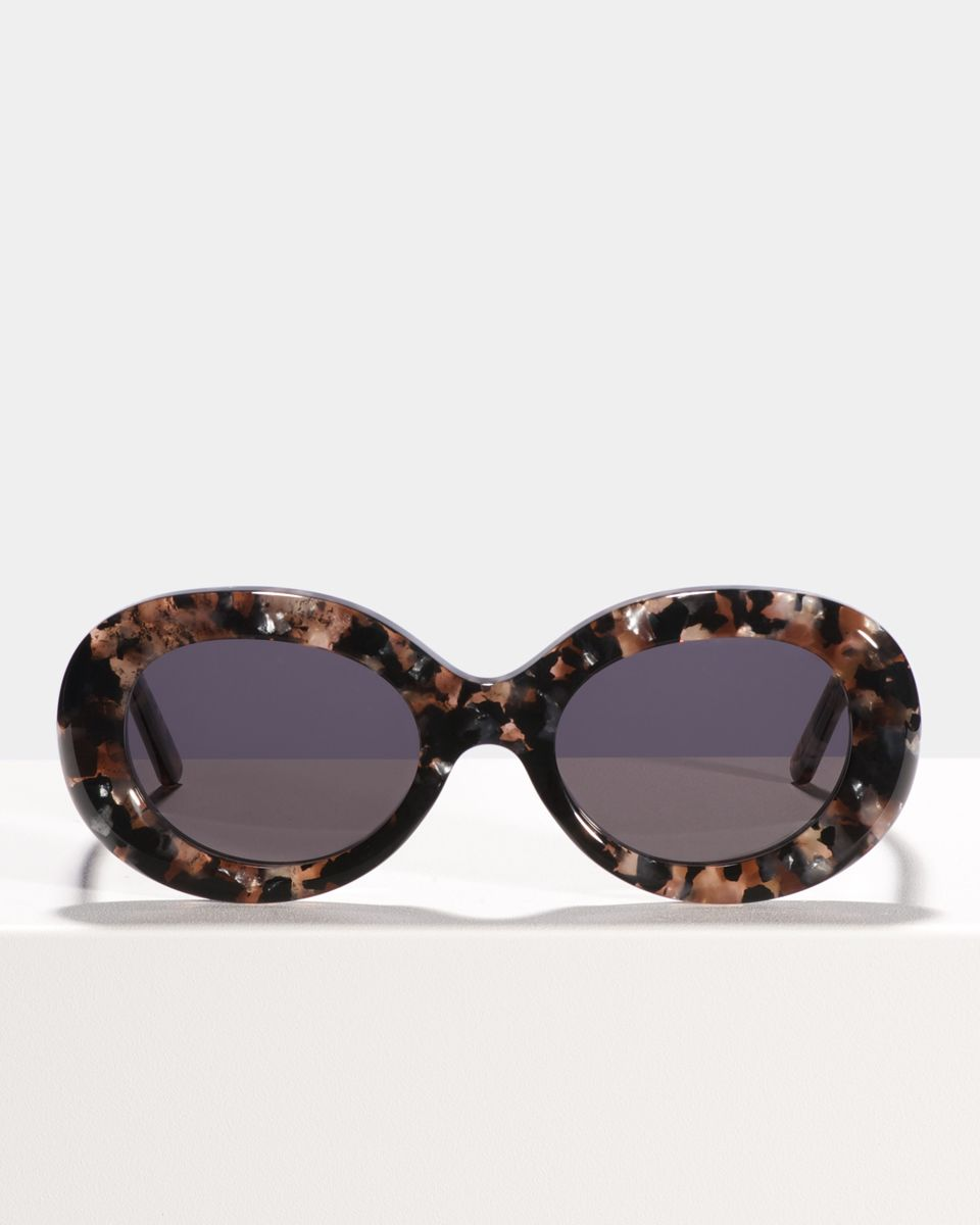 Frances acetate glasses in Rose Quartz by Ace & Tate