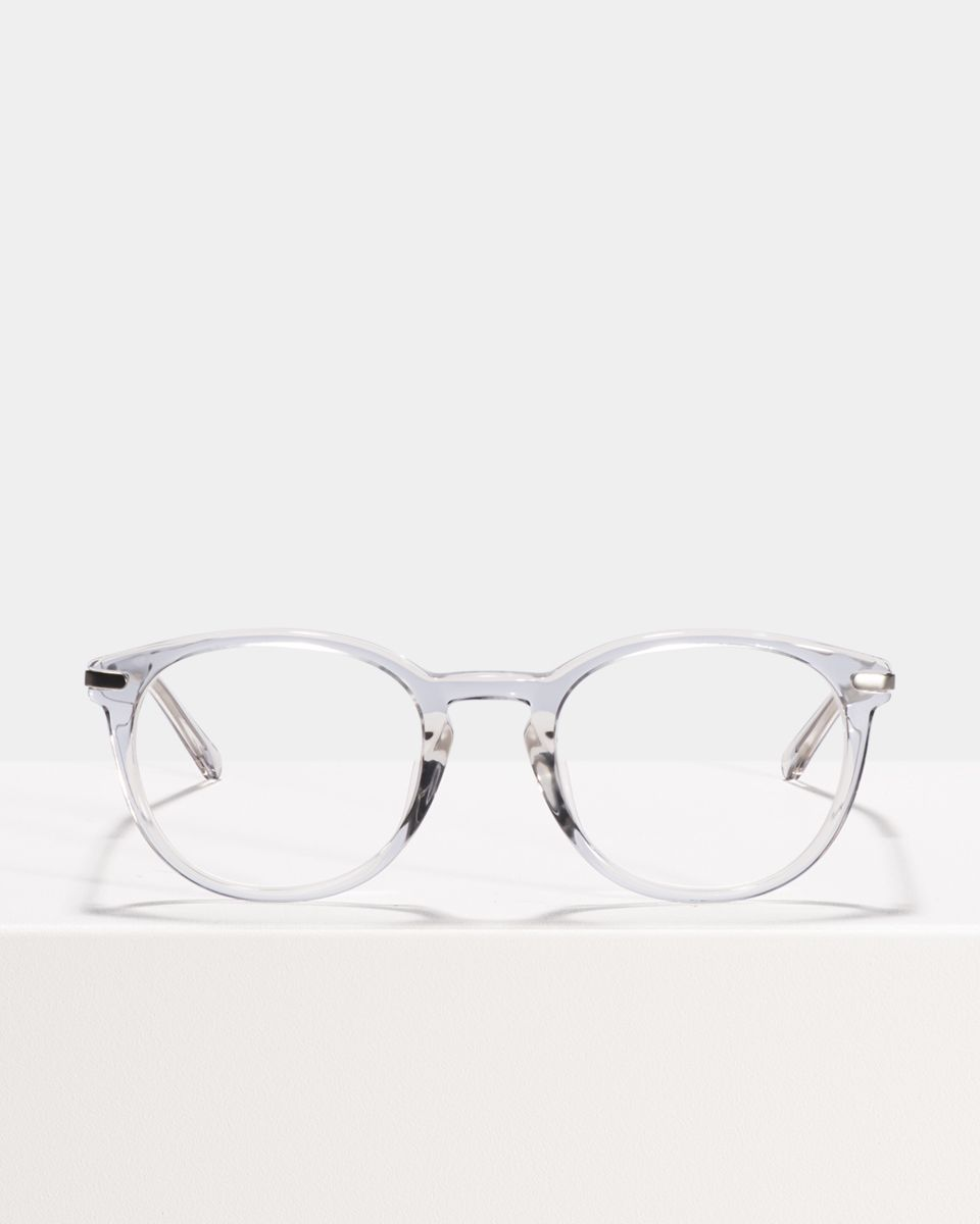 Franck square combi glasses in Smoke by Ace & Tate
