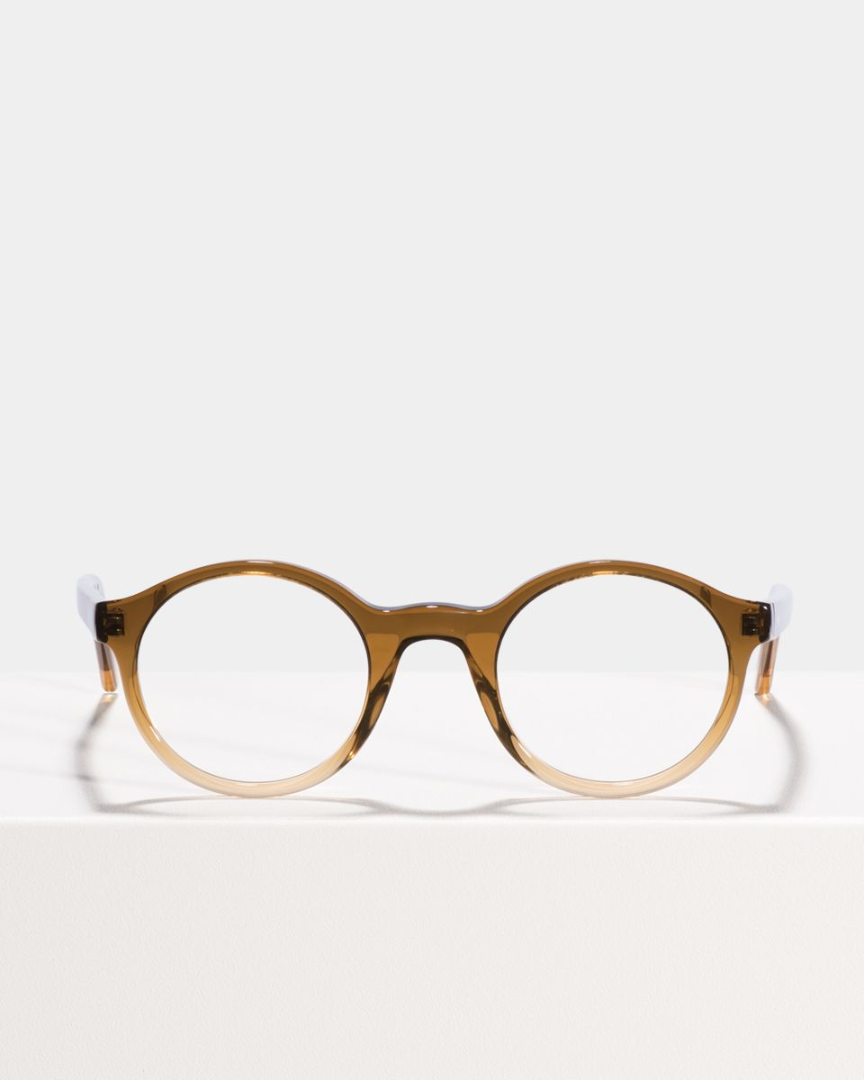 Jamie rund Acetat glasses in Sandstorm by Ace & Tate