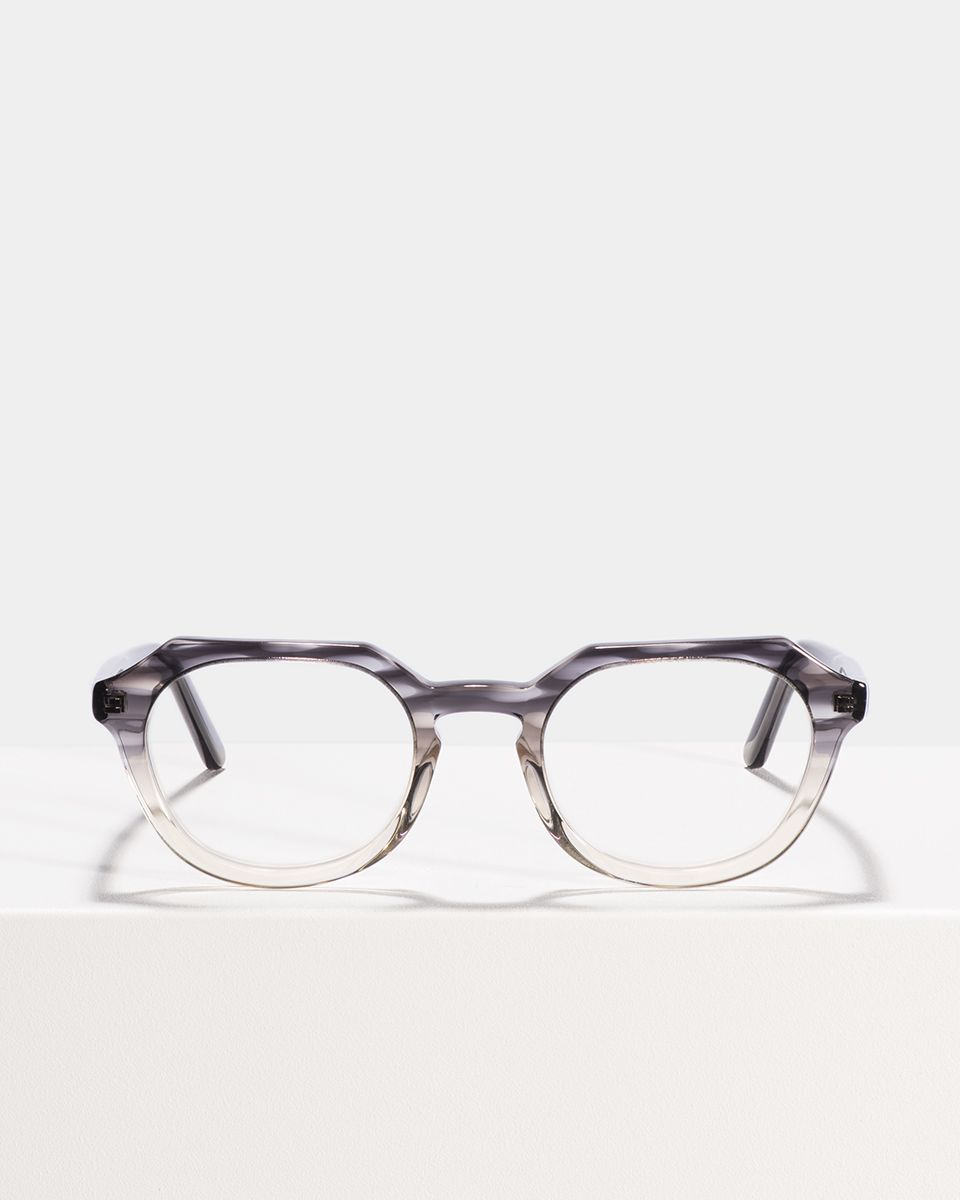 Johnny oval acetate glasses in Charcoal Gradient by Ace & Tate