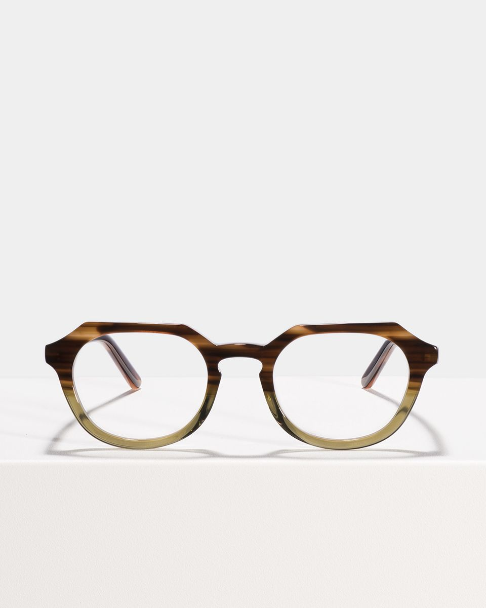 Johnny oval Acetat glasses in Hunter Green by Ace & Tate