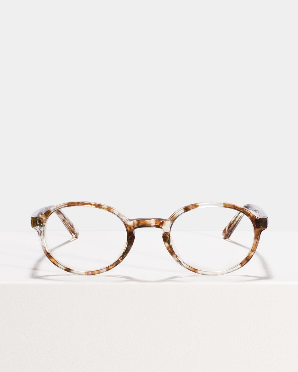 Jones oval acetaat glasses in Gold Dust by Ace & Tate