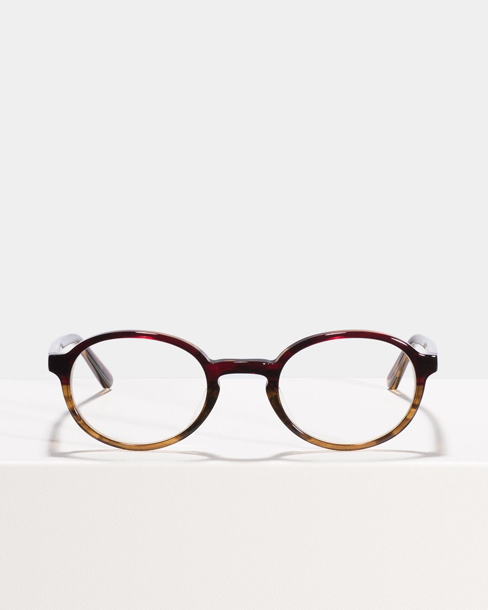 Jones oval acetate glasses in Red Havana by Ace & Tate