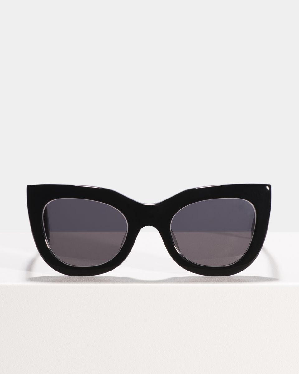 Katie rund bio acetate glasses in Bio Black by Ace & Tate