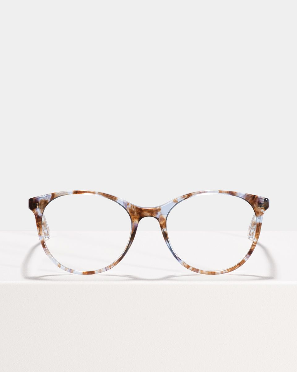 Lily rund Acetat glasses in Electric Lady by Ace & Tate