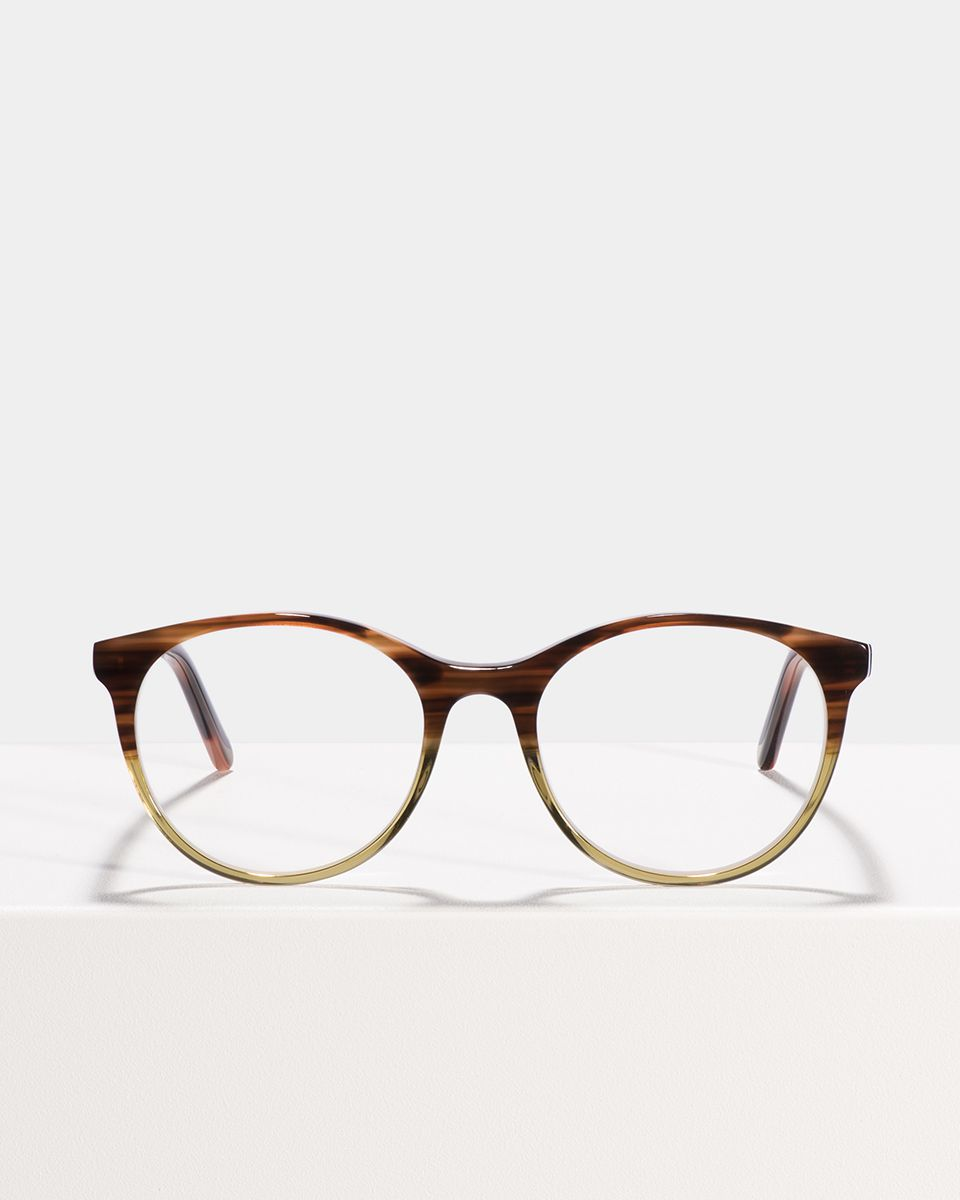 Lily rund Acetat glasses in Hunter Green by Ace & Tate