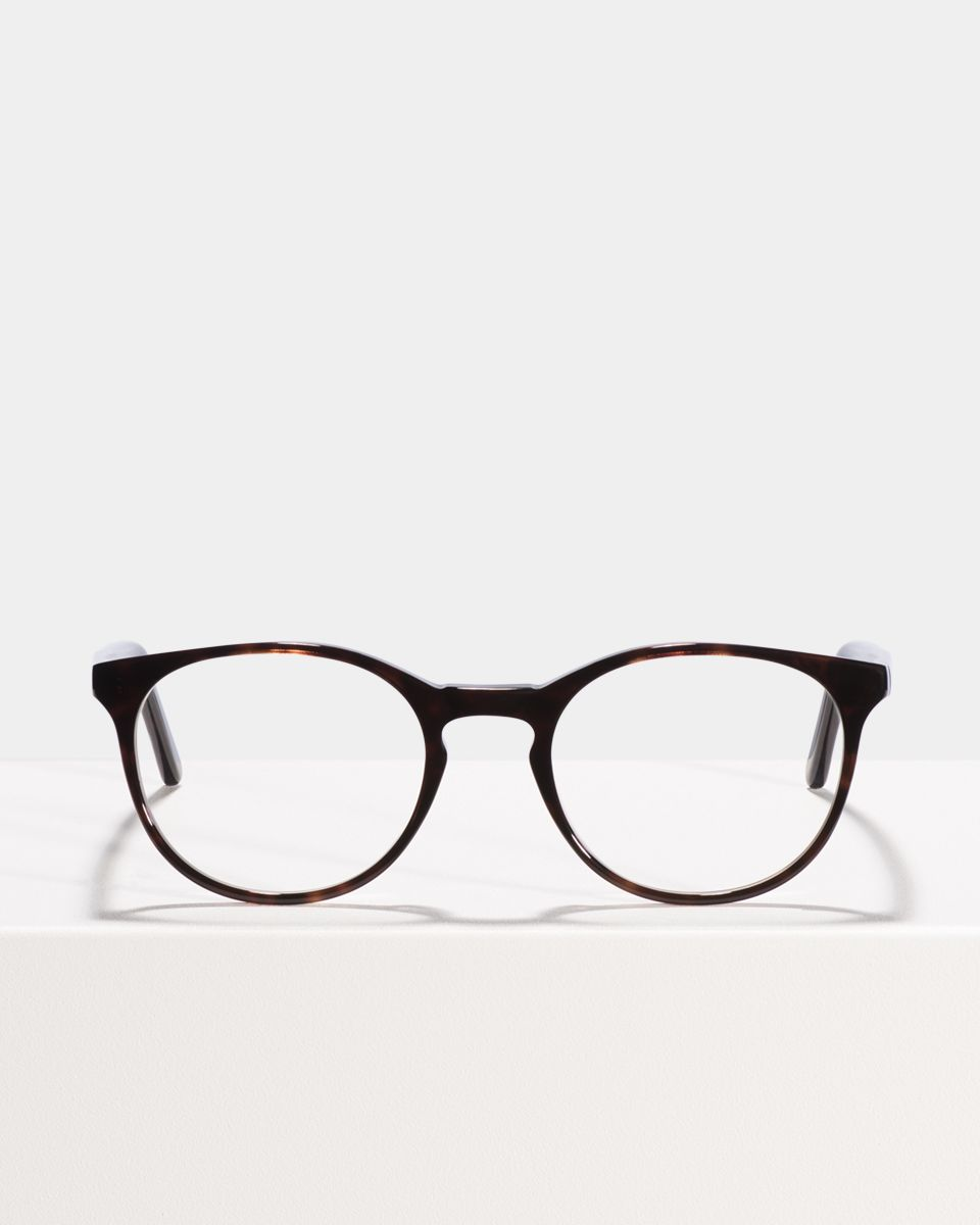 Miles rond acetaat glasses in Black Forest by Ace & Tate