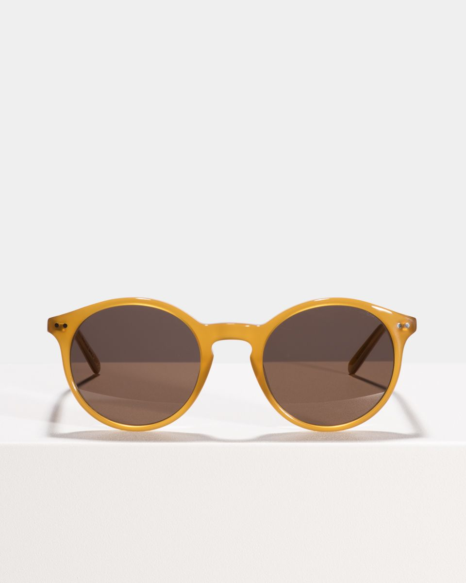 Monty acetaat glasses in Caramel by Ace & Tate