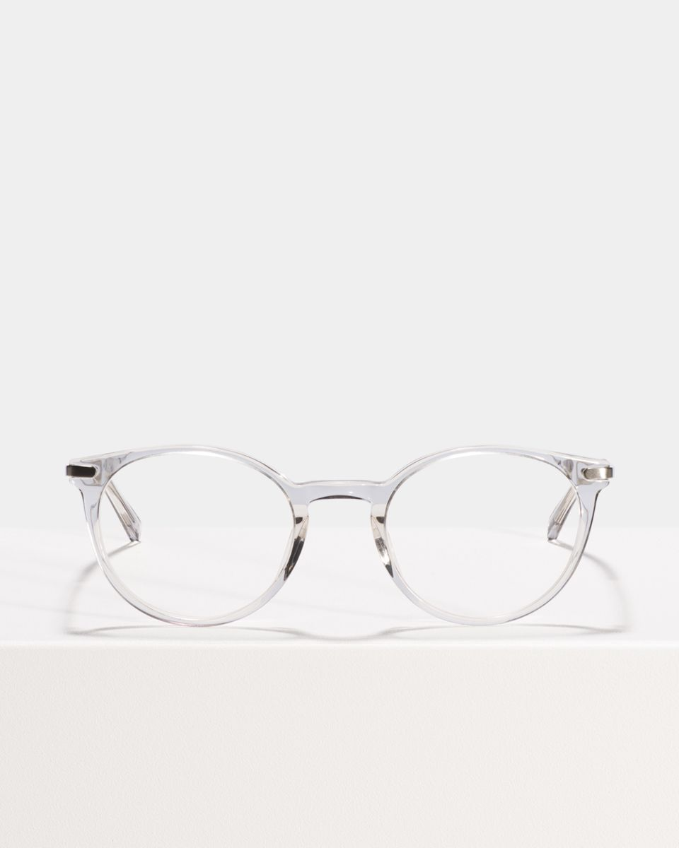 Morris rond metal,combi glasses in Smoke by Ace & Tate