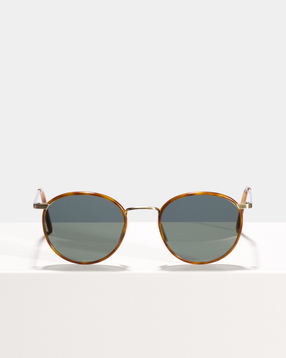 Neil metal glasses in Desert Spice by Ace & Tate