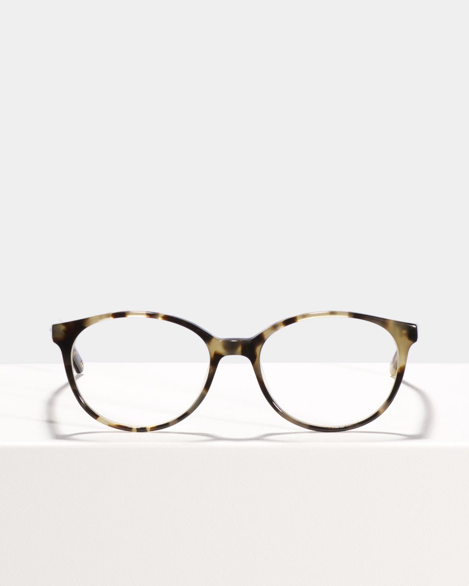 Nina rond acetaat glasses in Autumn Leaves by Ace & Tate