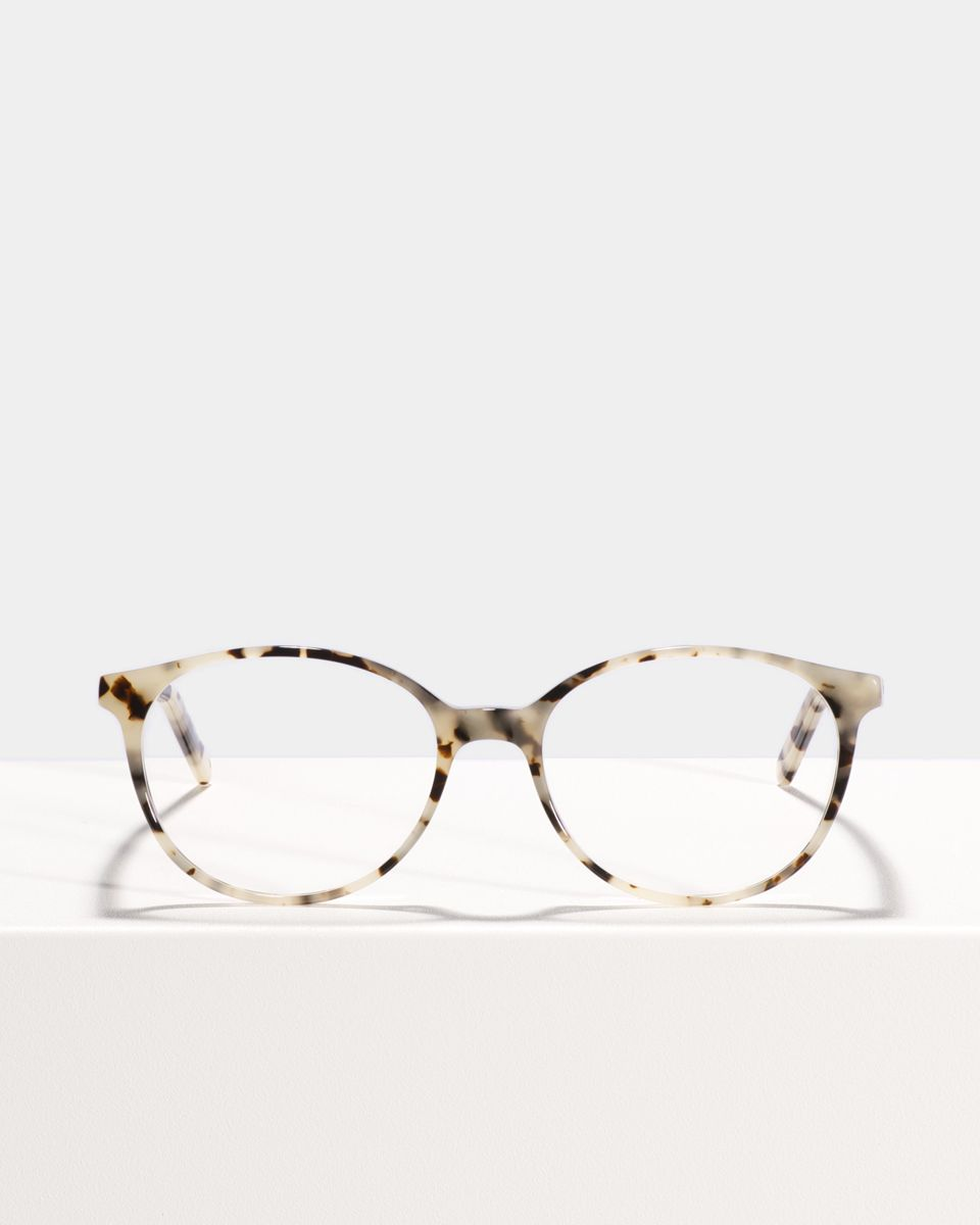 Nina round acetate glasses in Space Oddity by Ace & Tate