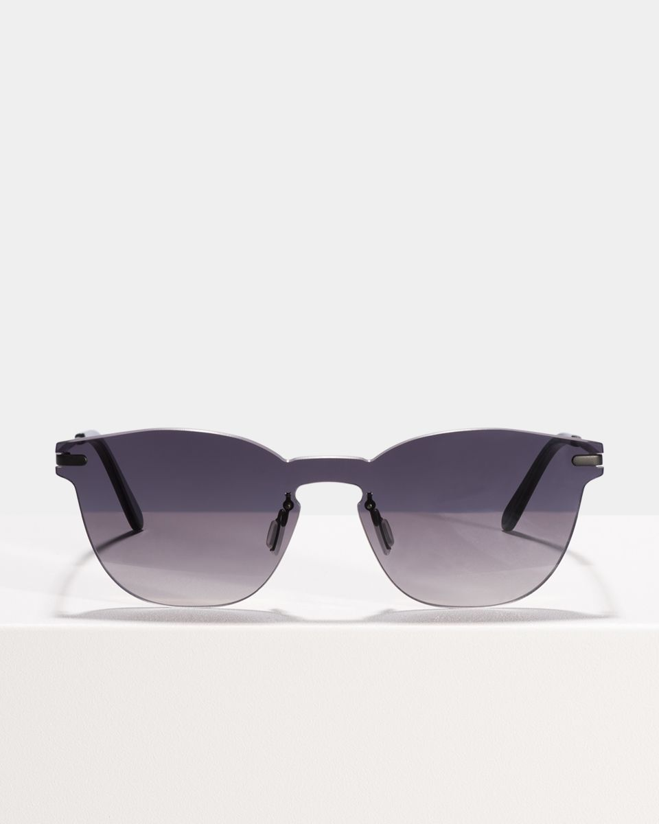 Roland rund Metall glasses in Grey Gradient by Ace & Tate