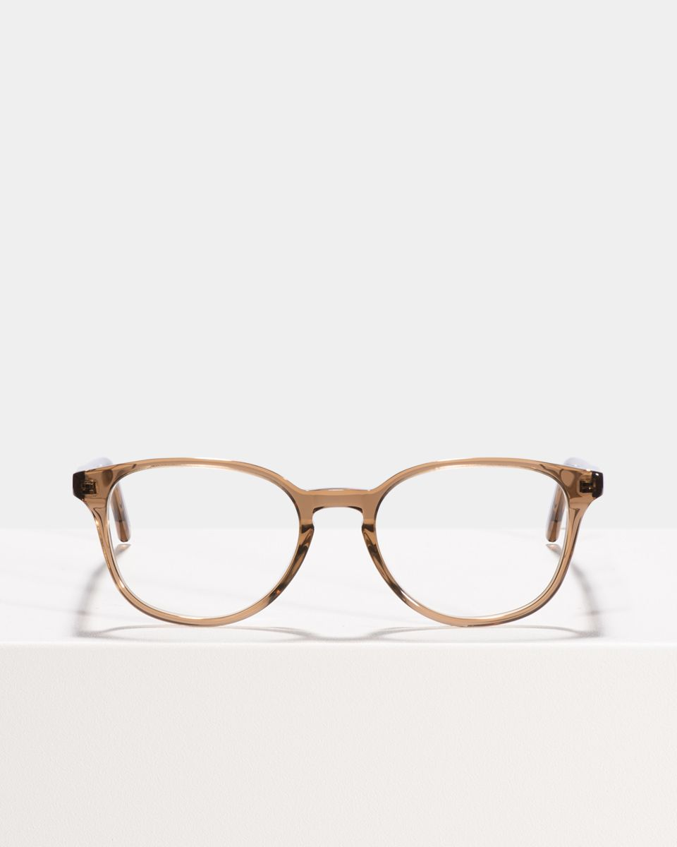 Ryan ronde acétate glasses in Golden Brown by Ace & Tate