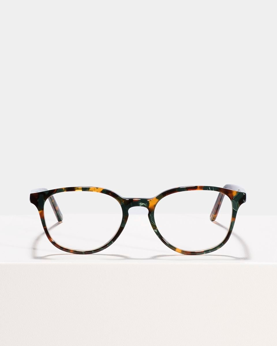 Ryan rund Acetat glasses in Peacock by Ace & Tate