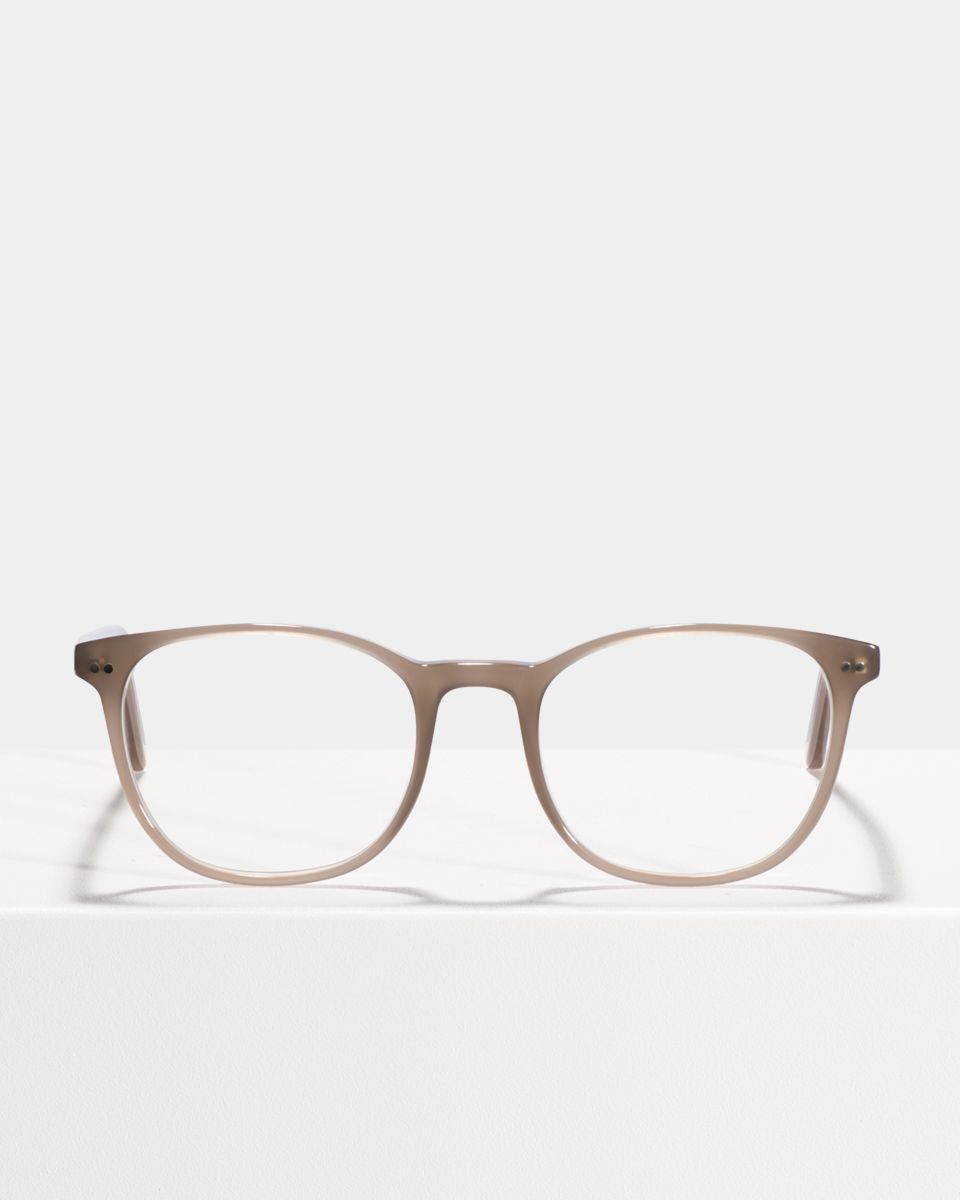 Saul rund Acetat glasses in Greyhound Grey by Ace & Tate