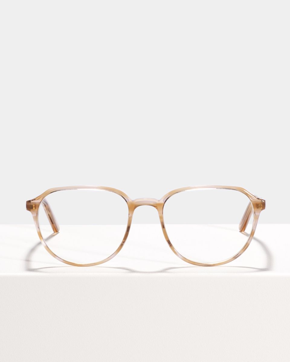 Stan rond acetaat glasses in Sunset by Ace & Tate