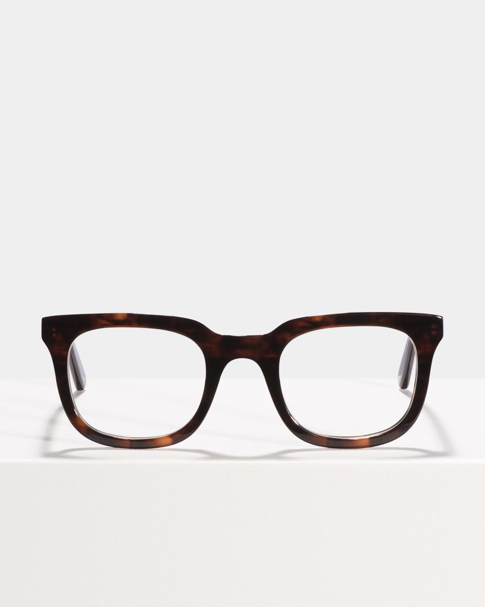 Teller rectangle acetate glasses in Rosewood by Ace & Tate