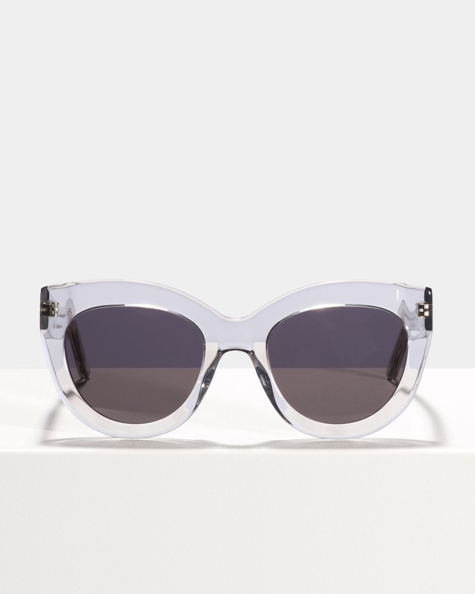 Vic round acetate glasses in Smoke by Ace & Tate