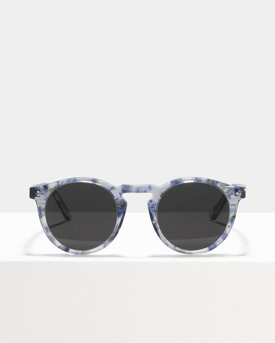 Benjamin rund Acetat glasses in Hummingbird by Ace & Tate
