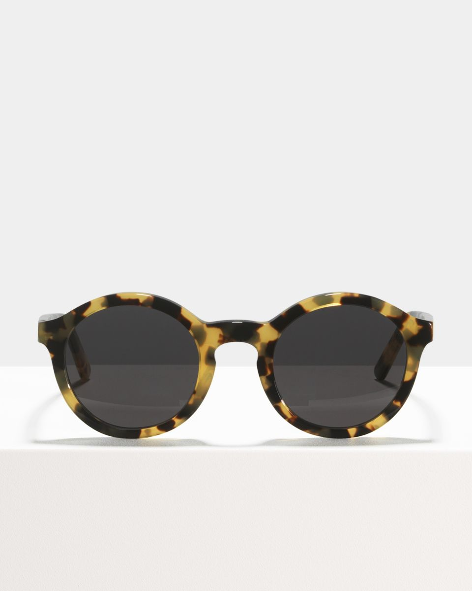 Colin rund Acetat glasses in Bananas by Ace & Tate