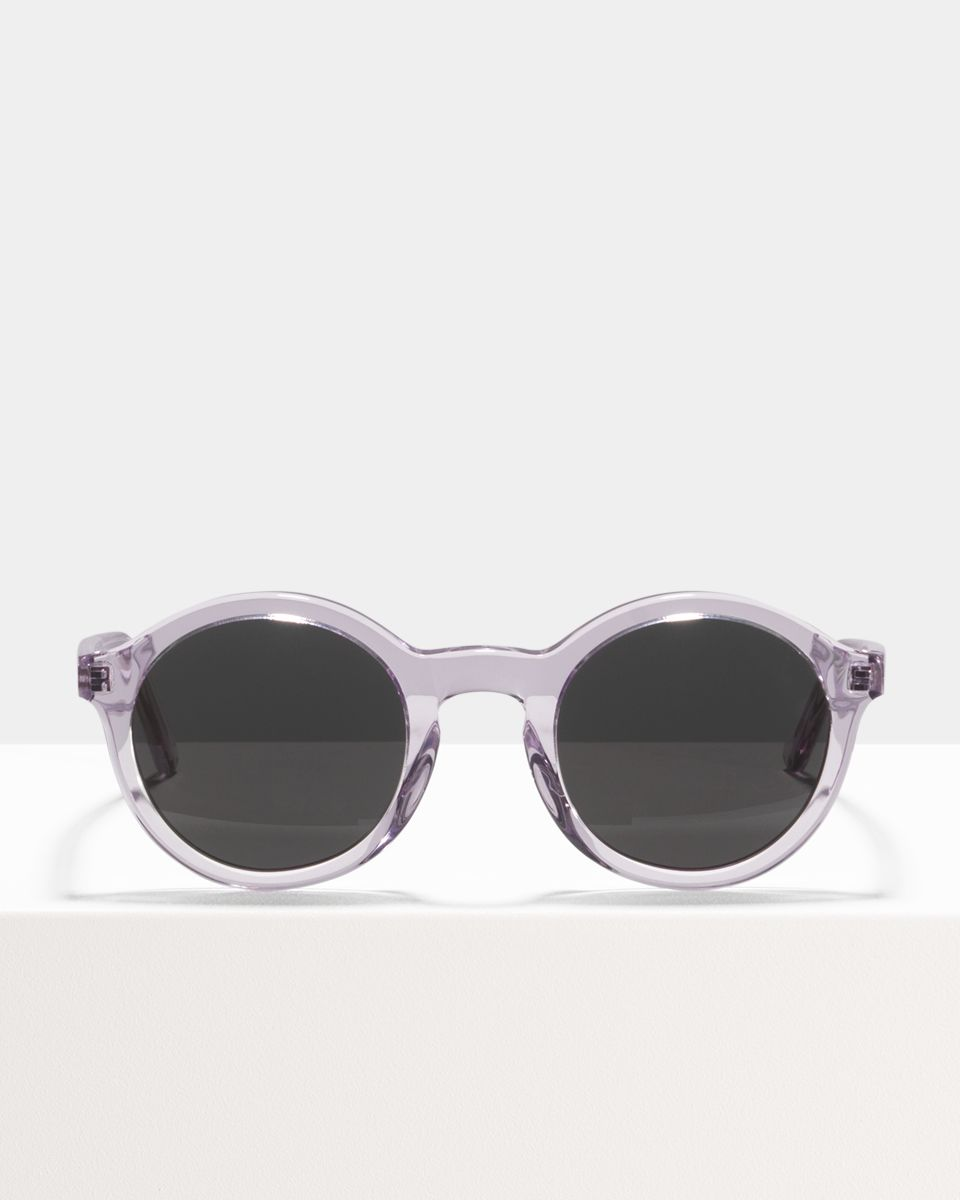 Colin round acetate glasses in Lilac by Ace & Tate