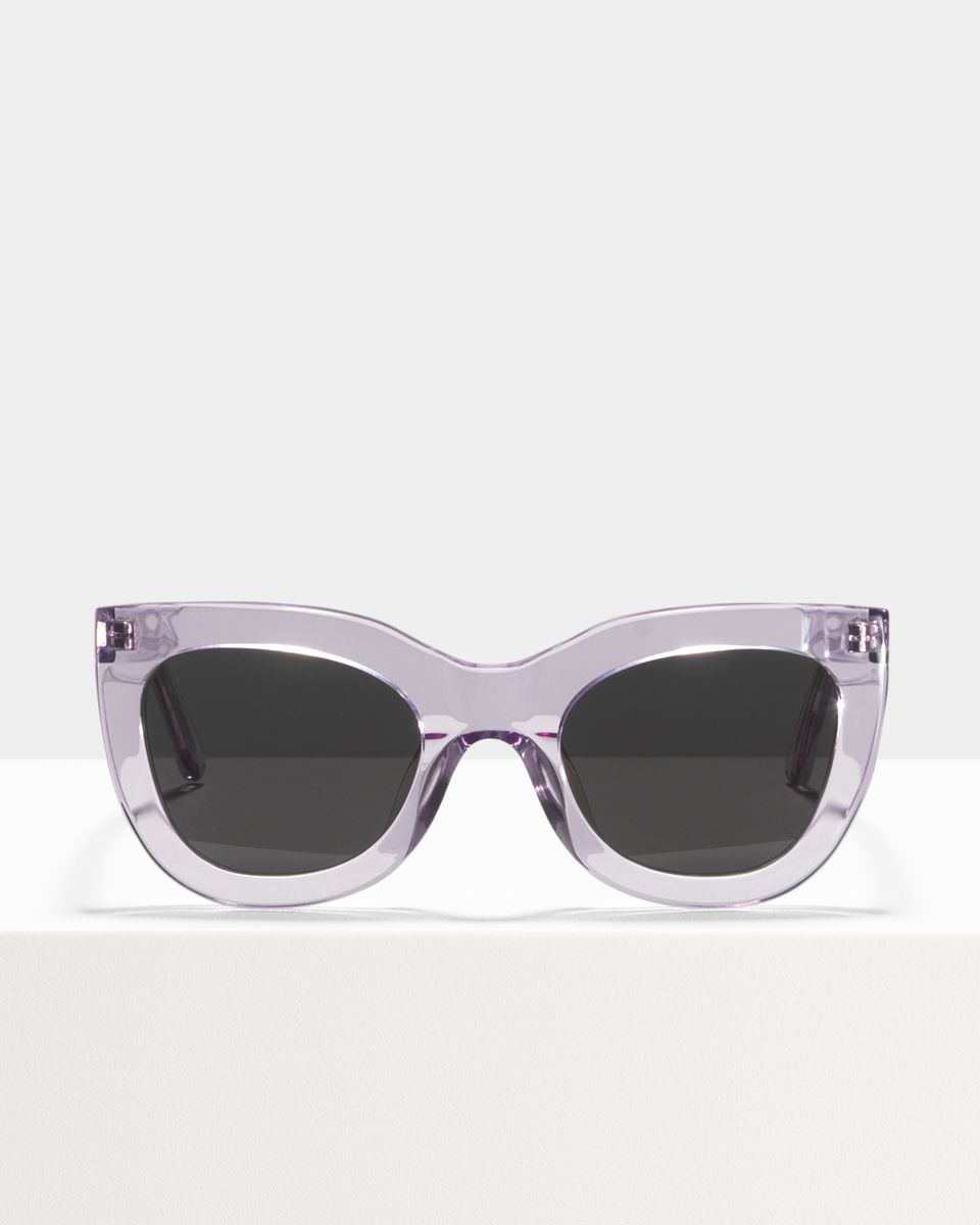 Katie rund Acetat glasses in Lilac by Ace & Tate