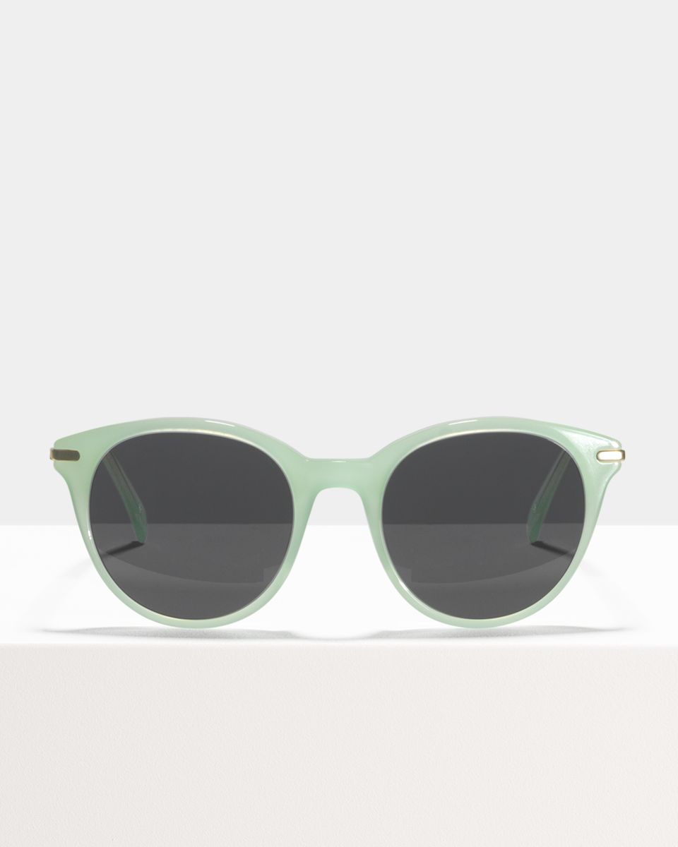 Liz rund Verbund glasses in Mint by Ace & Tate
