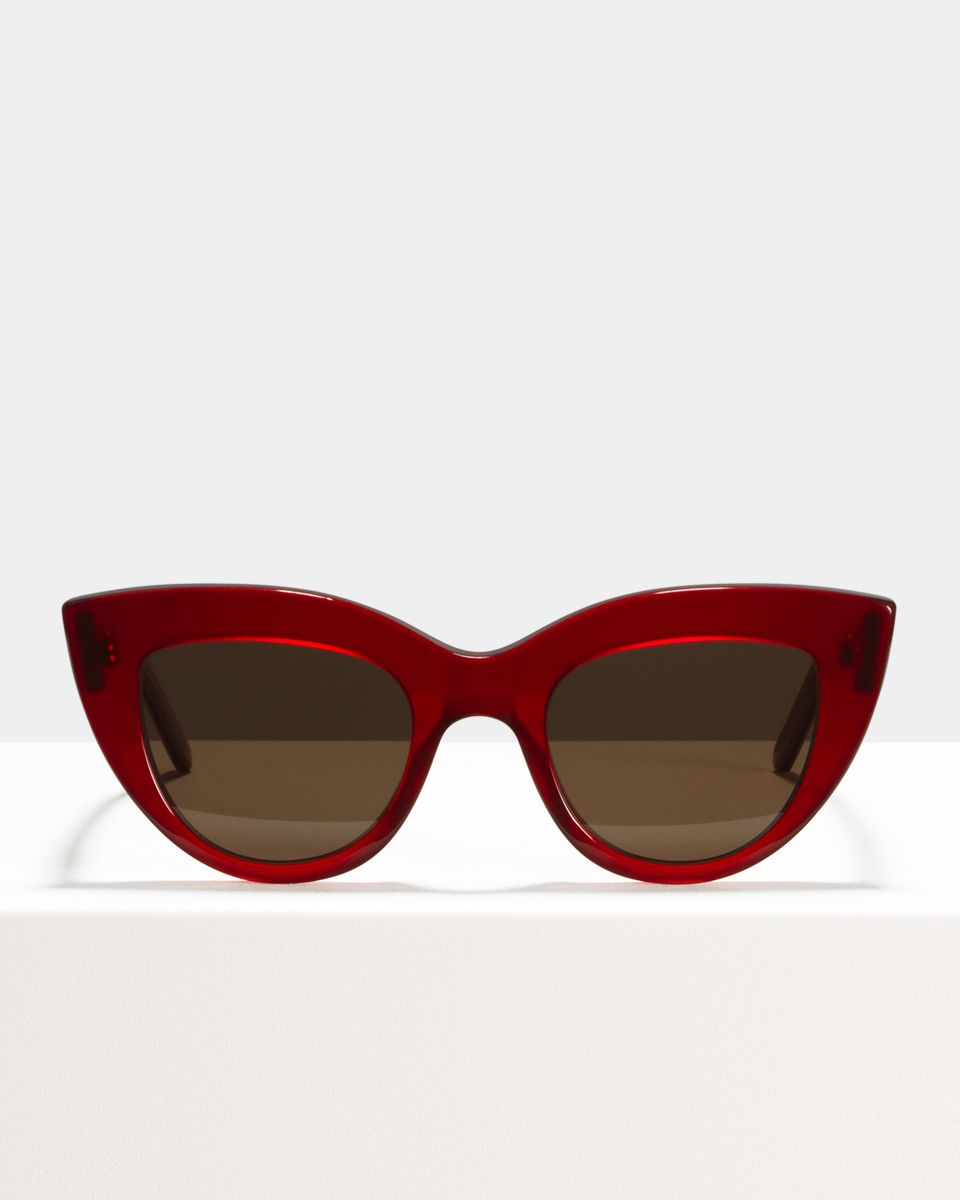 Capri acétate glasses in Poppy by Ace & Tate