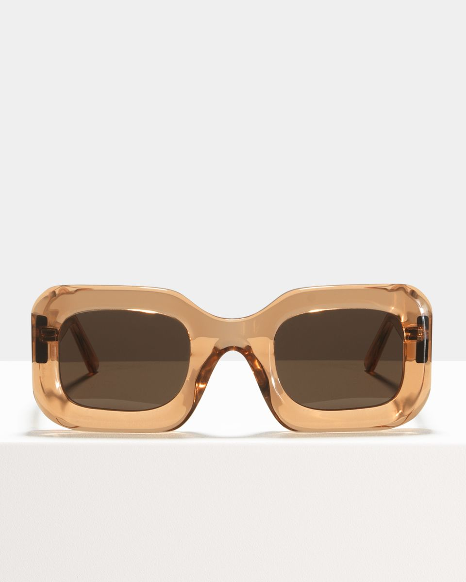 Donna round acetate glasses in Marmalade by Ace & Tate