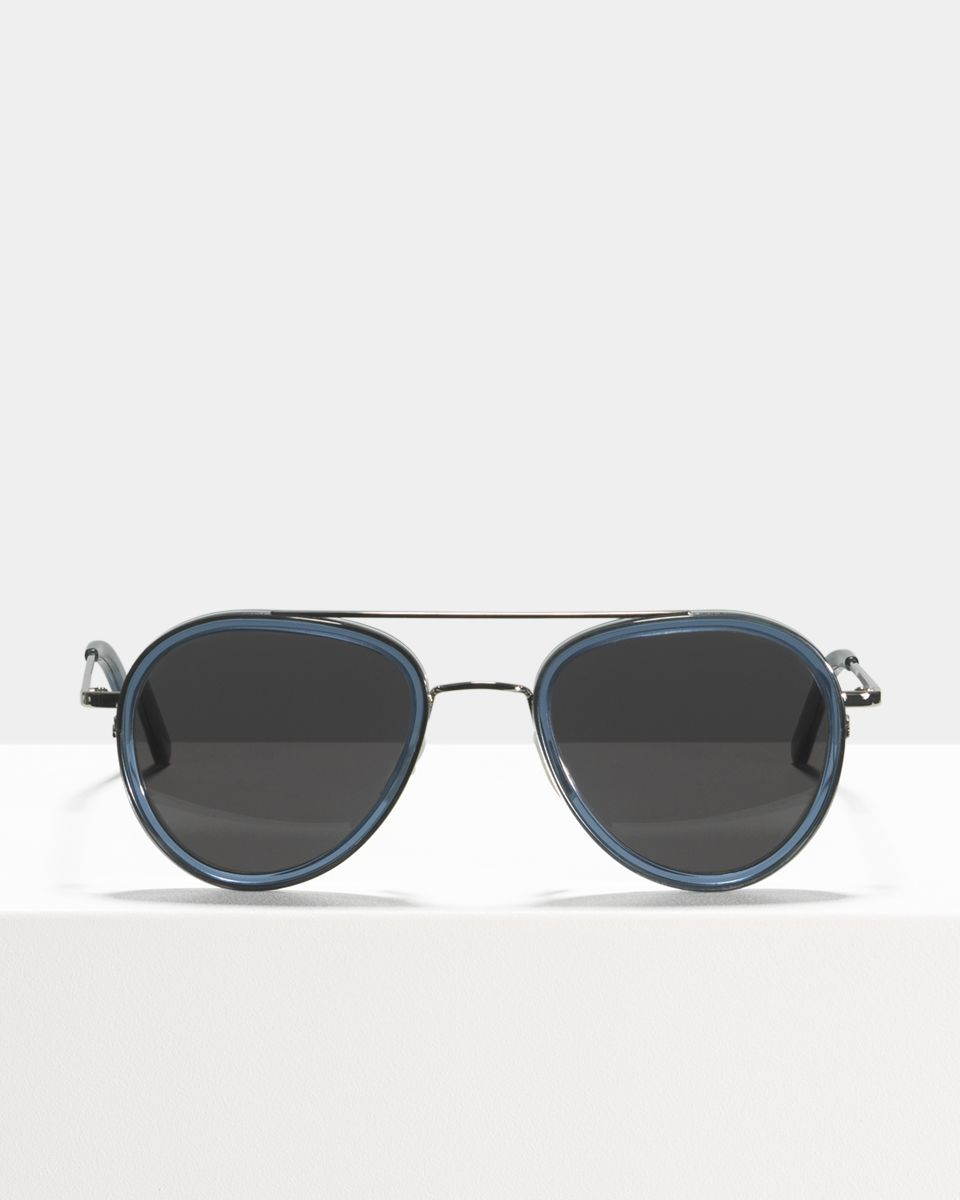 Quentin rund Verbund glasses in Slate by Ace & Tate