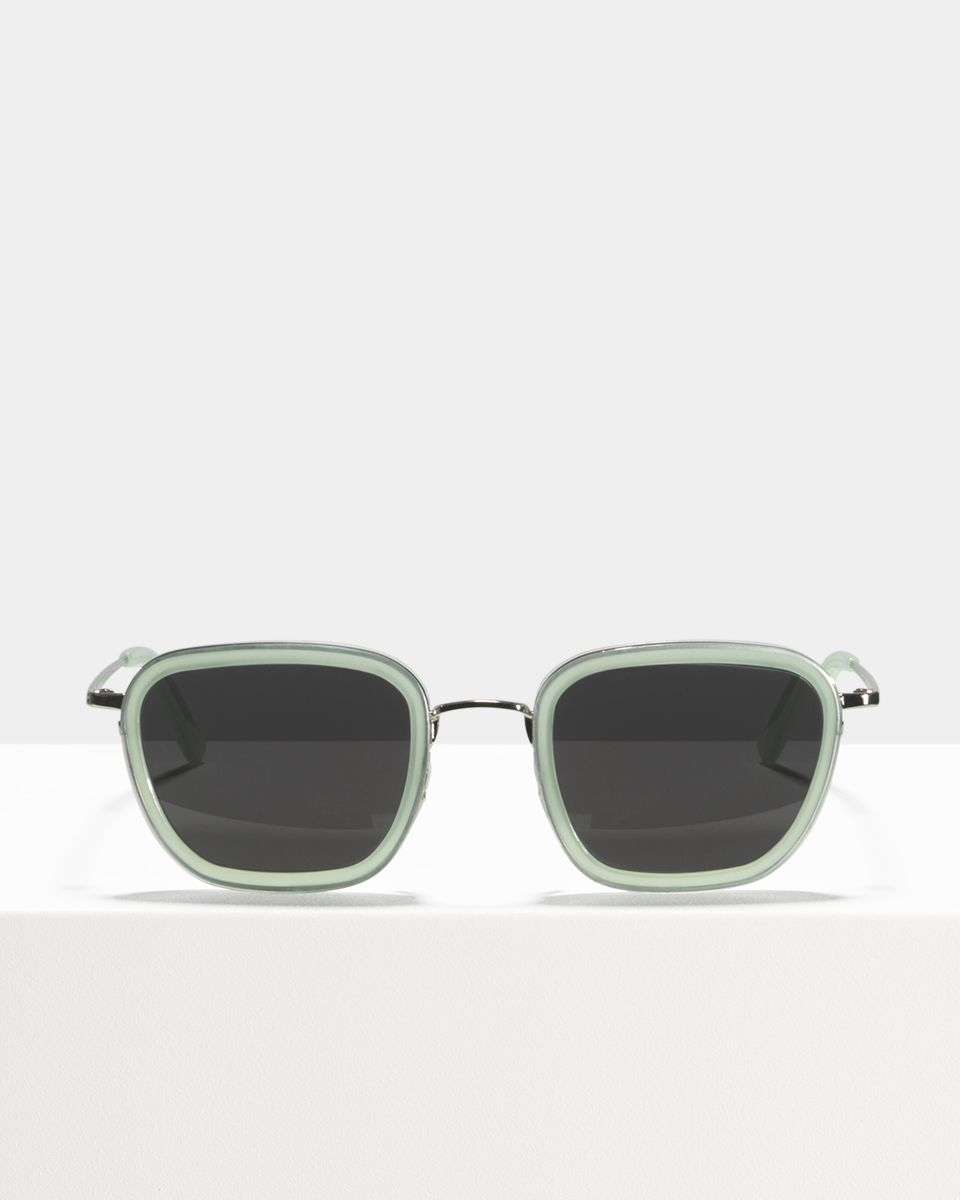 Ringo vierkant combi glasses in Mint by Ace & Tate