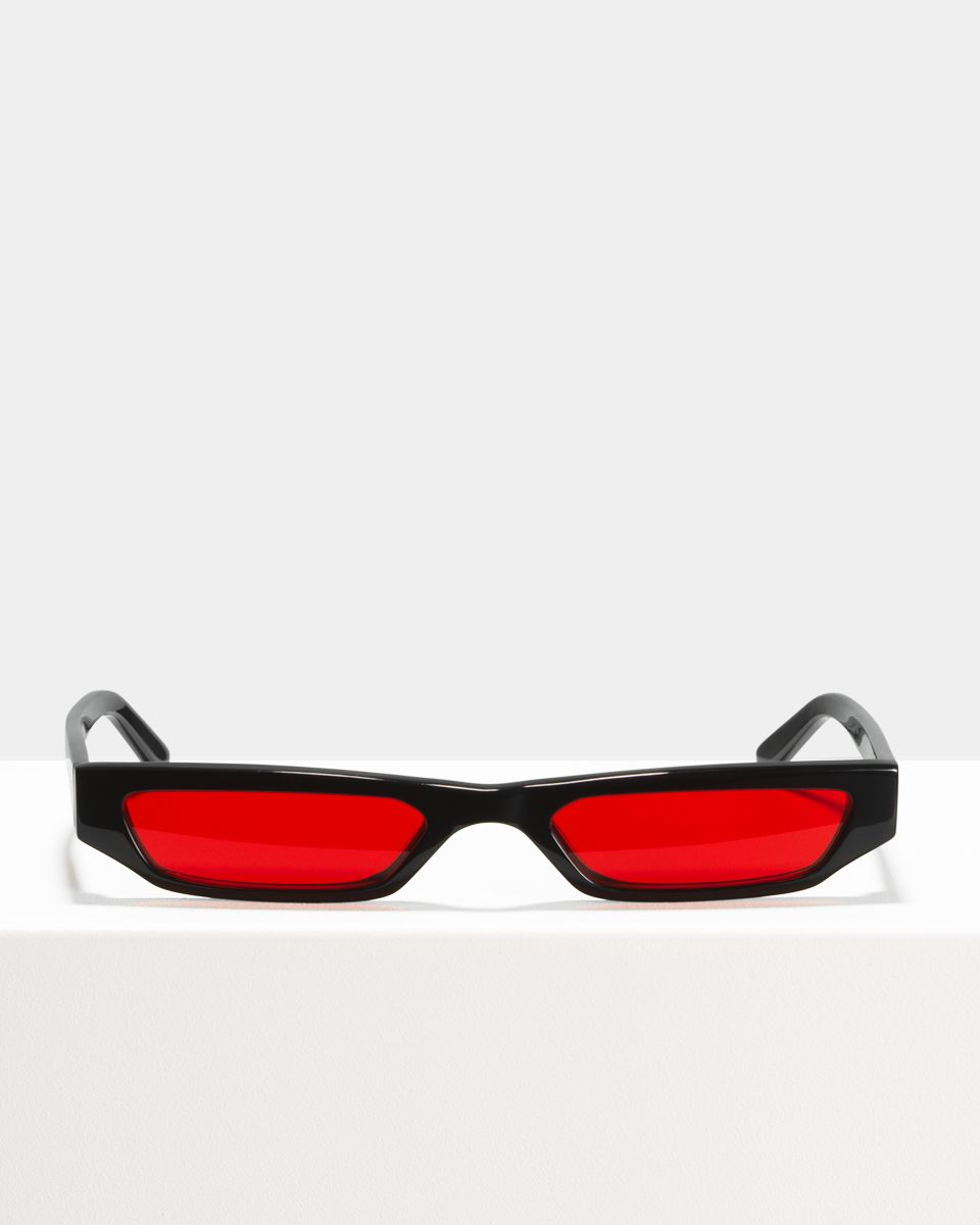 CMMN Pris rectangle acetate glasses in Infrared by Ace & Tate