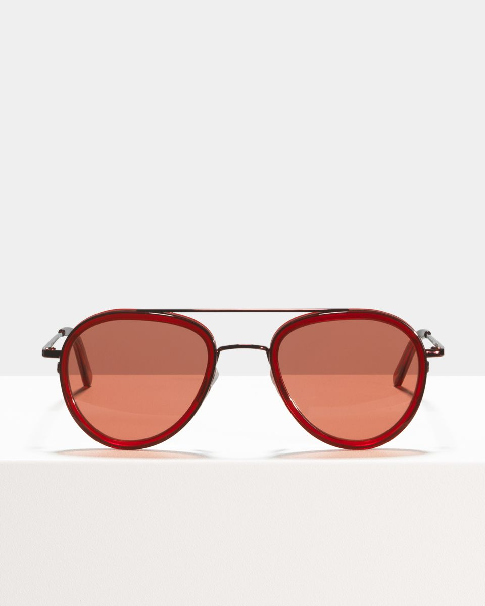 Quentin round combi glasses in Flamenco by Ace & Tate